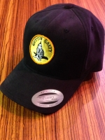 Gettin Salty Black Brushed Washed Hat