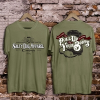 Pull Up Your Boots Firefighter T-shirt