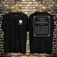 1898 NYC Fire Regulations Tee