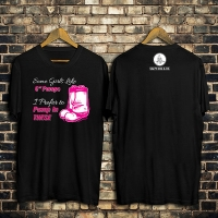 Like Pumps Womens Firefighter Tshirt