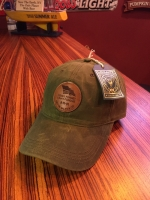 I Don't Forgive Dark Olive Leather Patch Waxed Hat