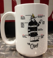 Chief Ceramic Coffee Mug