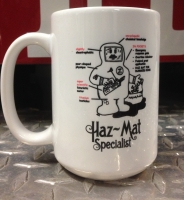 Haz Mat Ceramic Coffee Mug