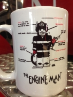 EngineMan Ceramic Coffee Mug