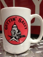Gettin Salty Red Ceramic Coffee Mug