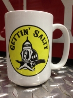 Gettin Salty Logo Ceramic Coffee Mug