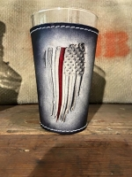 Thin Red Line Pint Glass Wrap Combo