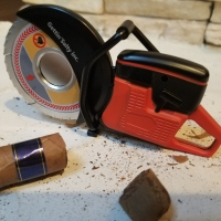 Gettin Salty Partner Saw Cigar Cutter