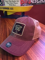 Old Favorite Burgundy Trucker Hat