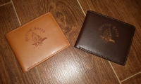 Gettin Salty Leather Wallet