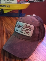 Gettin Salty Brown Waxed Trucker Hat