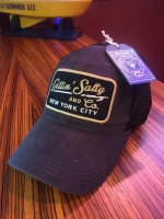 Gettin Salty Charcoal Waxed Trucker Hat