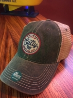 Gettin Salty Green Trucker Hat