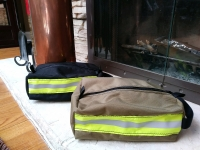 Bunker Gear Style Toiletry Bag