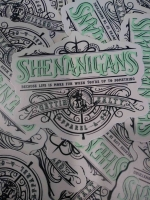 Shenanigans Firefighter Decal