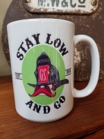 Stay Low and Go Ceramic Coffee Mug