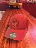 Gettin Salty Cardinal Round Trucker Hat