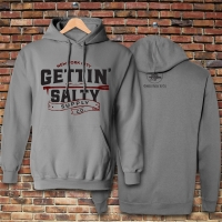 Gettin Salty Vintage Granite Hoodie Sweatshirt