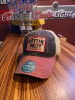 Old Favorite Black and Red Trucker Hat