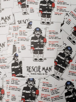 Gettin Salty Rescue Man Decal
