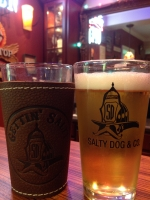 Salty Dog Logo Pint Glass Wrap Combo